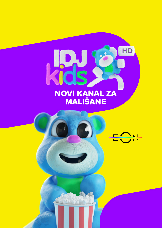 Najpopularniji crtaći od sada na novom IDJKids TV kanalu
