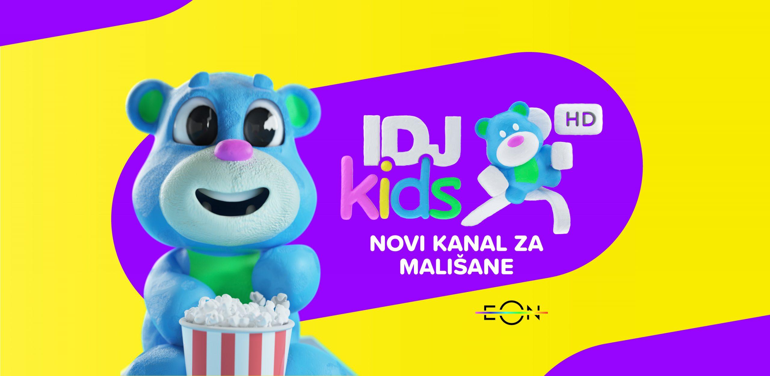 IDJ kids – novi kanal za mališane