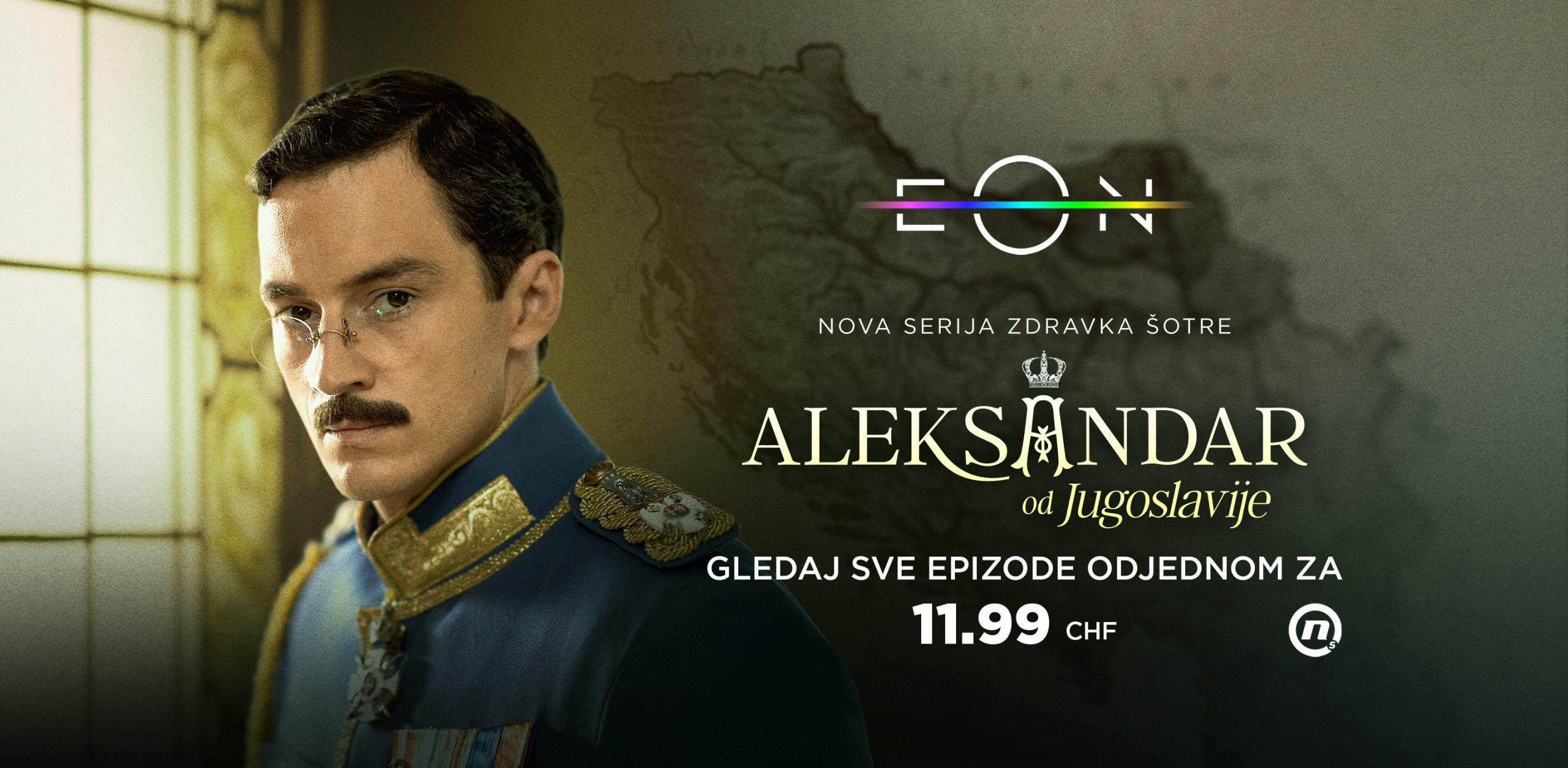 Aleksandar od Jugoslavije – samo 11.99 CHF